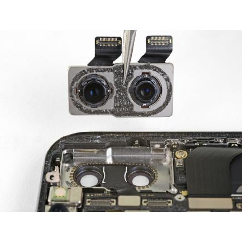 iPhone X hátlapi kamera csere