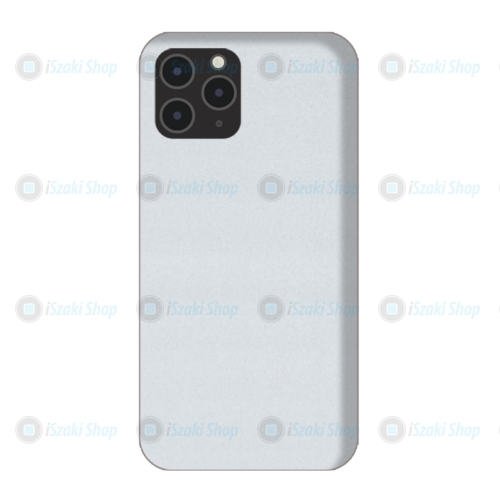 Fehér matt Hátlapi egyedi decor védő fólia, iPhone készülékekre