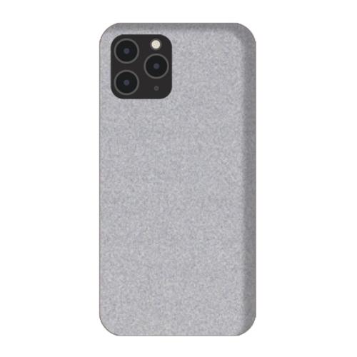 Ezüst Hátlapi egyedi decor védő fólia, iPhone készülékekre